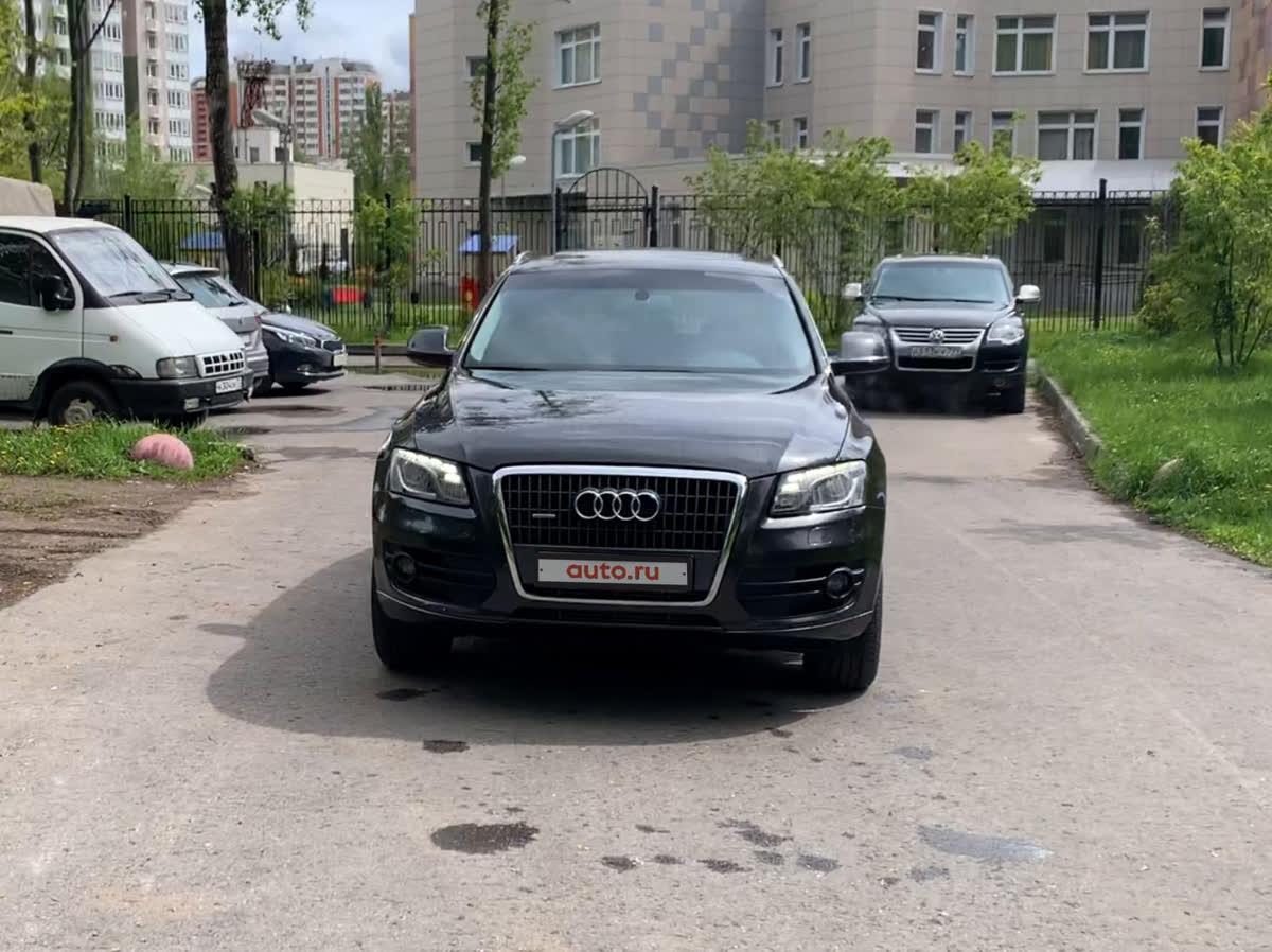 2009 Audi Q5 I (8R), серебристый, 780000 рублей