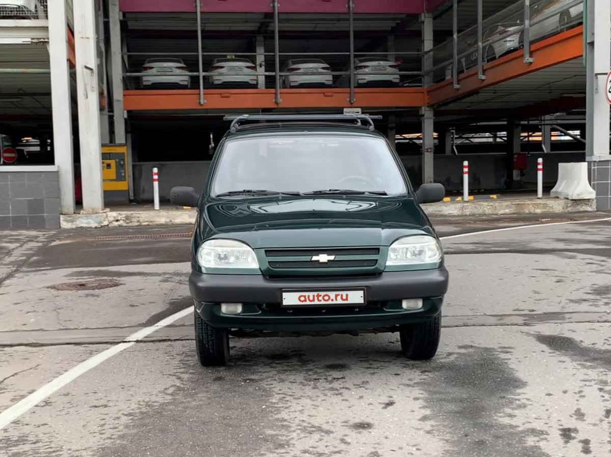 2003 Chevrolet Niva I, зелёный, 290000 рублей