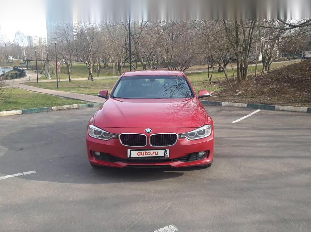 2012 BMW 3 серия  VI (F3x) 320i, красный, undefined рублей