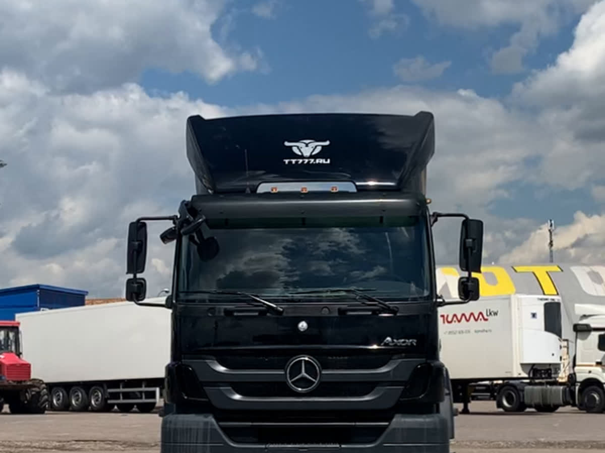 2012 Mercedes-Benz Axor, чёрный, 1689777 рублей