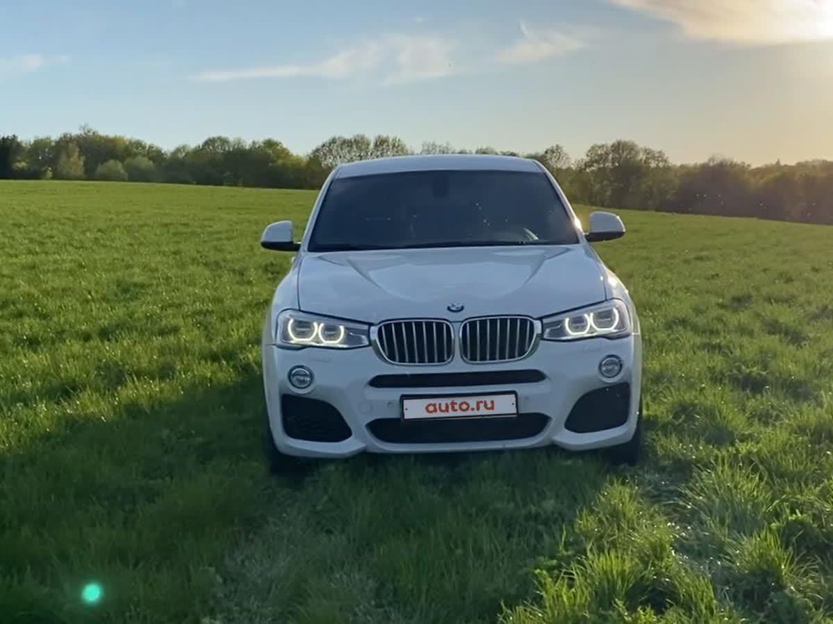 2014 BMW X4  I (F26) 35i, белый, 1645000 рублей
