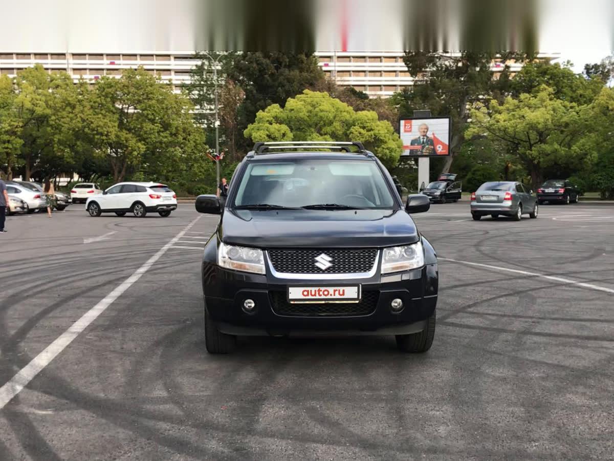 2007 Suzuki Grand Vitara  III, чёрный, undefined рублей