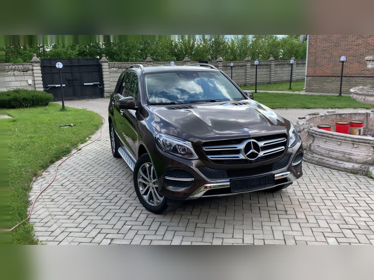 2016 Mercedes-Benz GLE  I (W166) 350 d, коричневый, undefined рублей