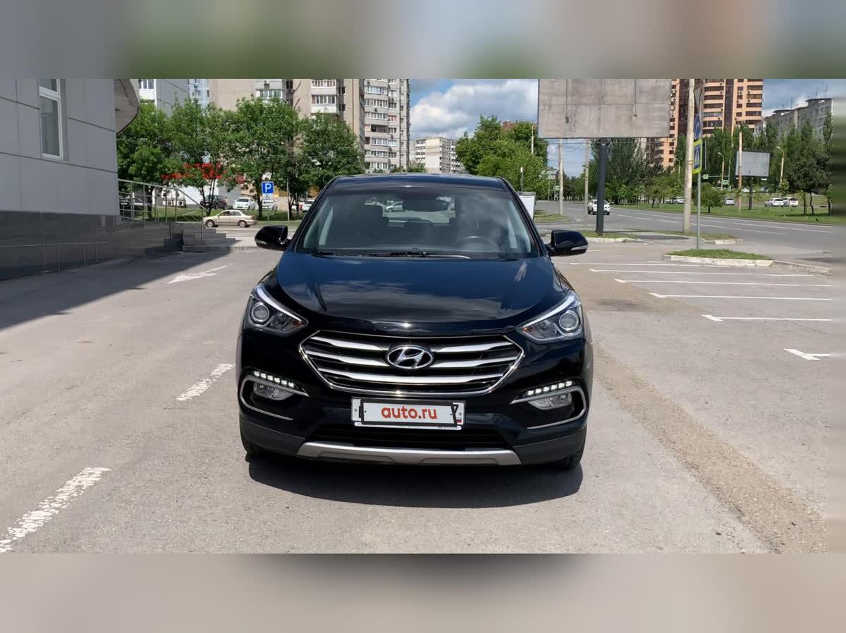 2016 Hyundai Santa Fe  III Рестайлинг, чёрный, undefined рублей