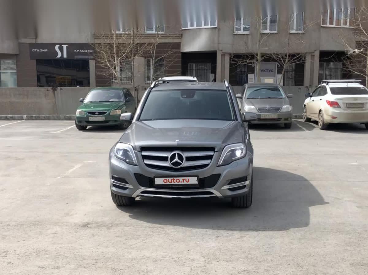 2014 Mercedes-Benz GLK-Класс  I (X204) Рестайлинг 220 CDI, серый, undefined рублей
