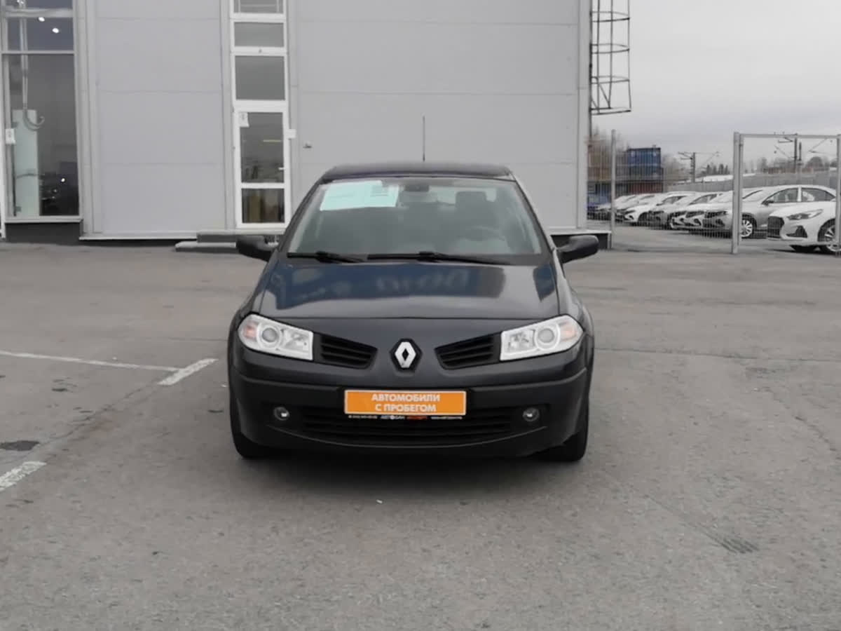 2007 Renault Megane  II Рестайлинг, серый, undefined рублей