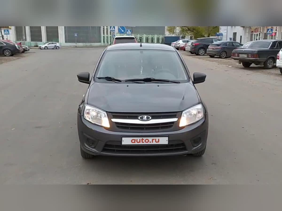 2017 LADA (ВАЗ) Granta  I, серебристый, undefined рублей
