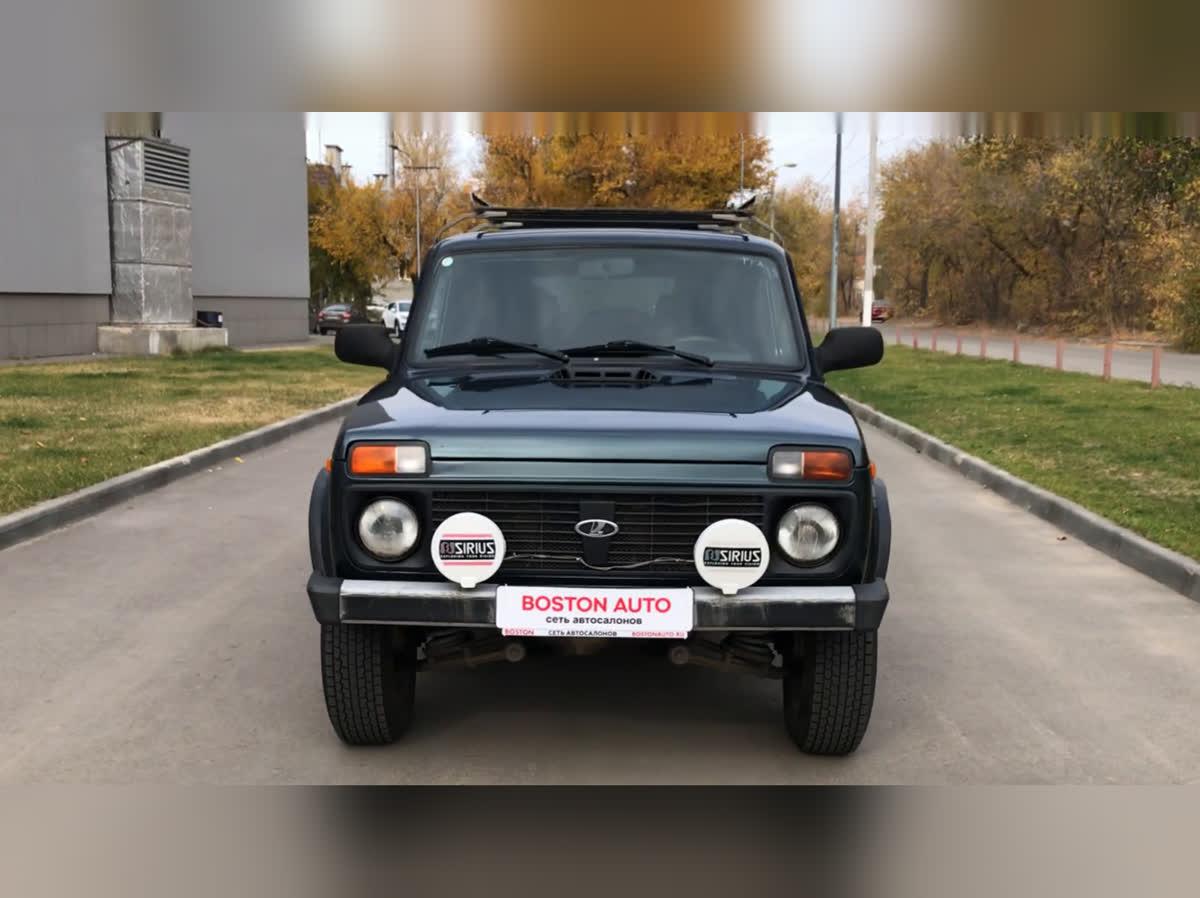 2015 LADA (ВАЗ) 2131 (4x4) I, зелёный, 398000 рублей