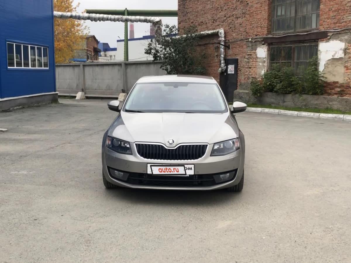 2015 Skoda Octavia III (A7), бежевый, undefined рублей