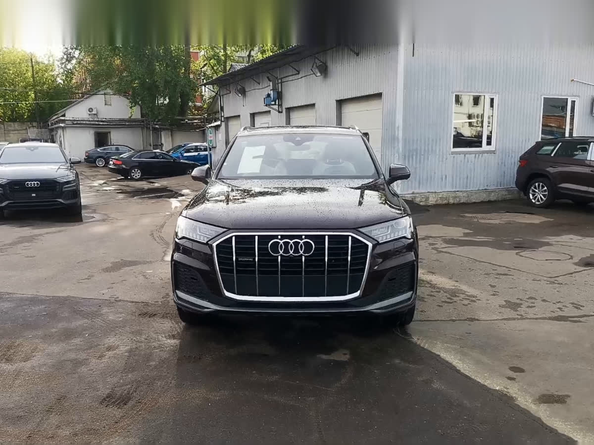 2020 Audi Q7  II (4M) Рестайлинг 45 TDI, коричневый, undefined рублей