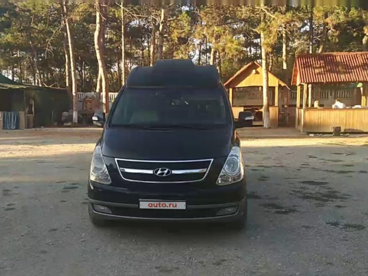 2012 Hyundai Grand Starex I, чёрный, 1549000 рублей