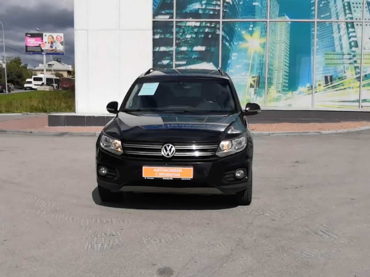 2013 Volkswagen Tiguan  I Рестайлинг, чёрный, undefined рублей
