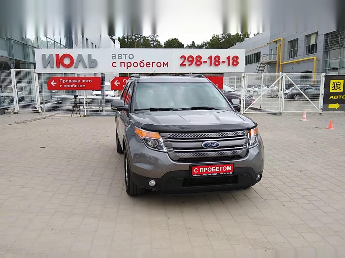 2012 Ford Explorer  V, серый, undefined рублей