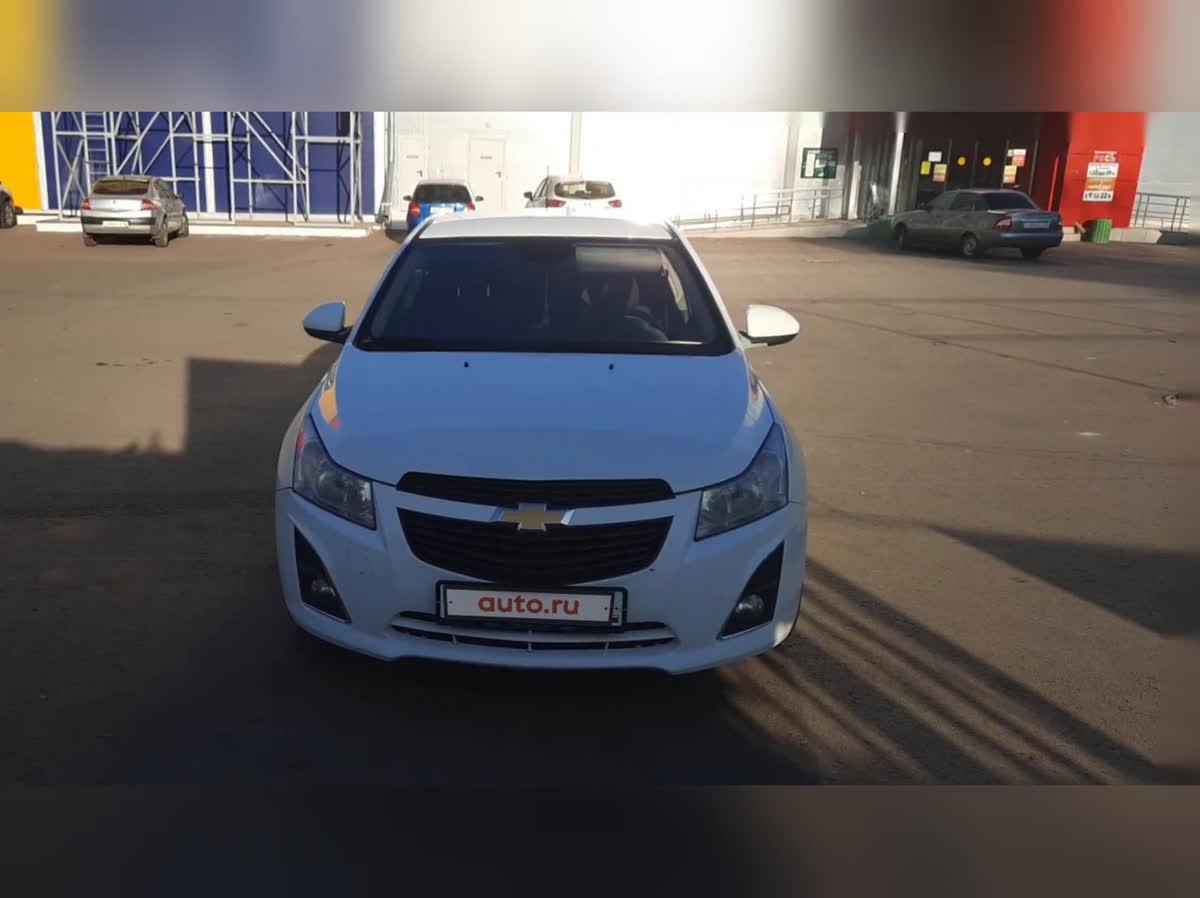2013 Chevrolet Cruze  I Рестайлинг, белый, undefined рублей