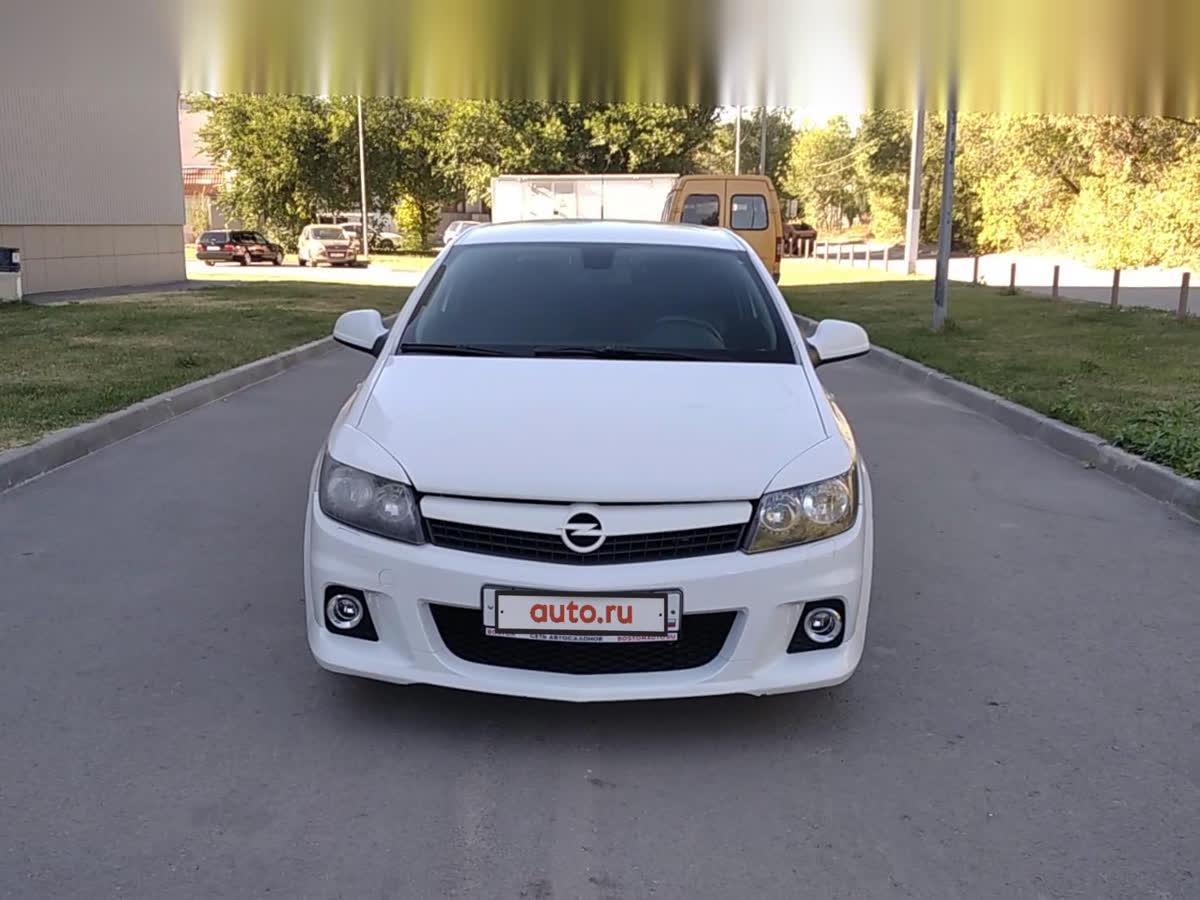 2011 Opel Astra  H Рестайлинг GTC, белый, undefined рублей
