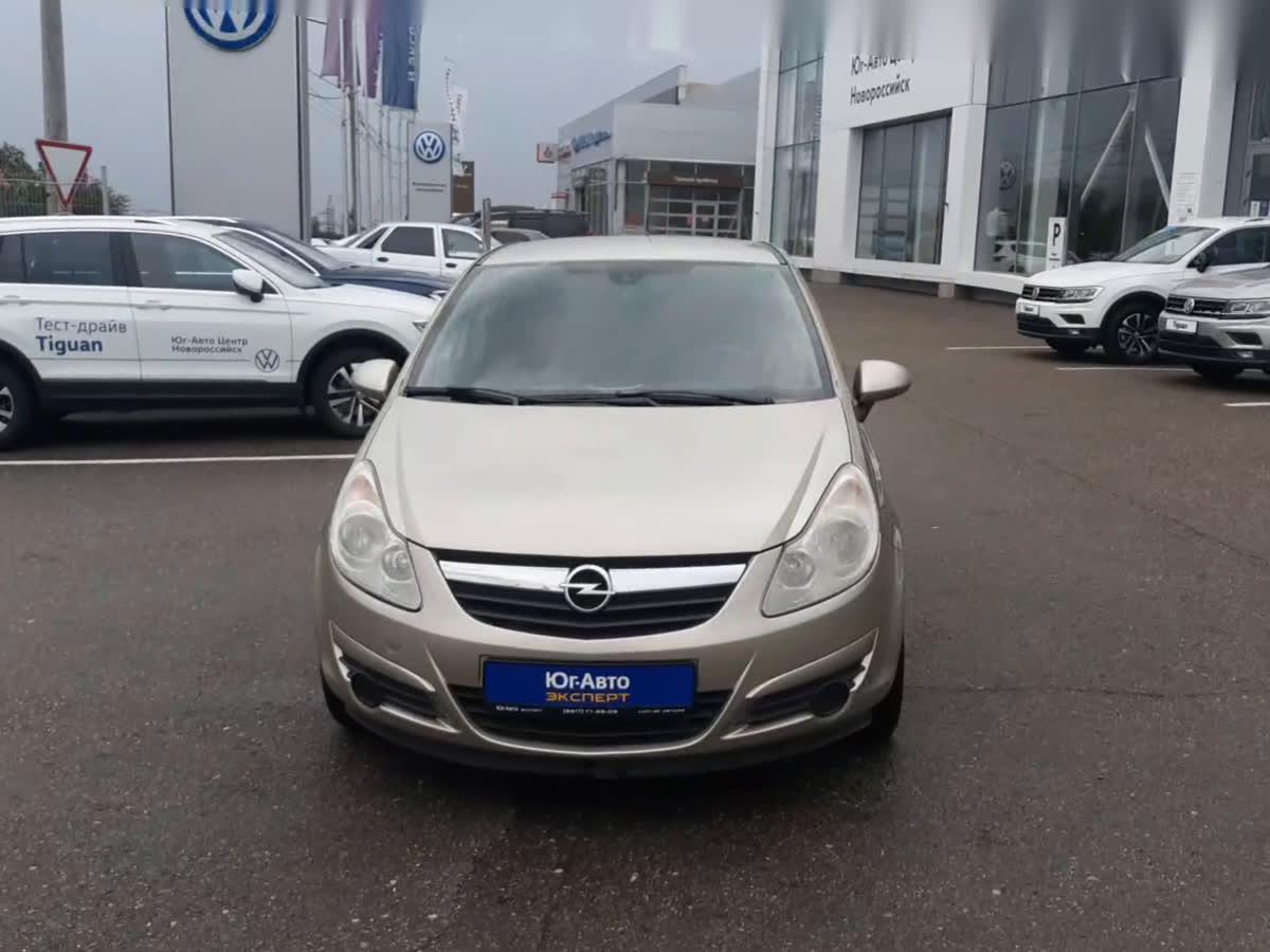 2008 Opel Corsa  D, серый, undefined рублей
