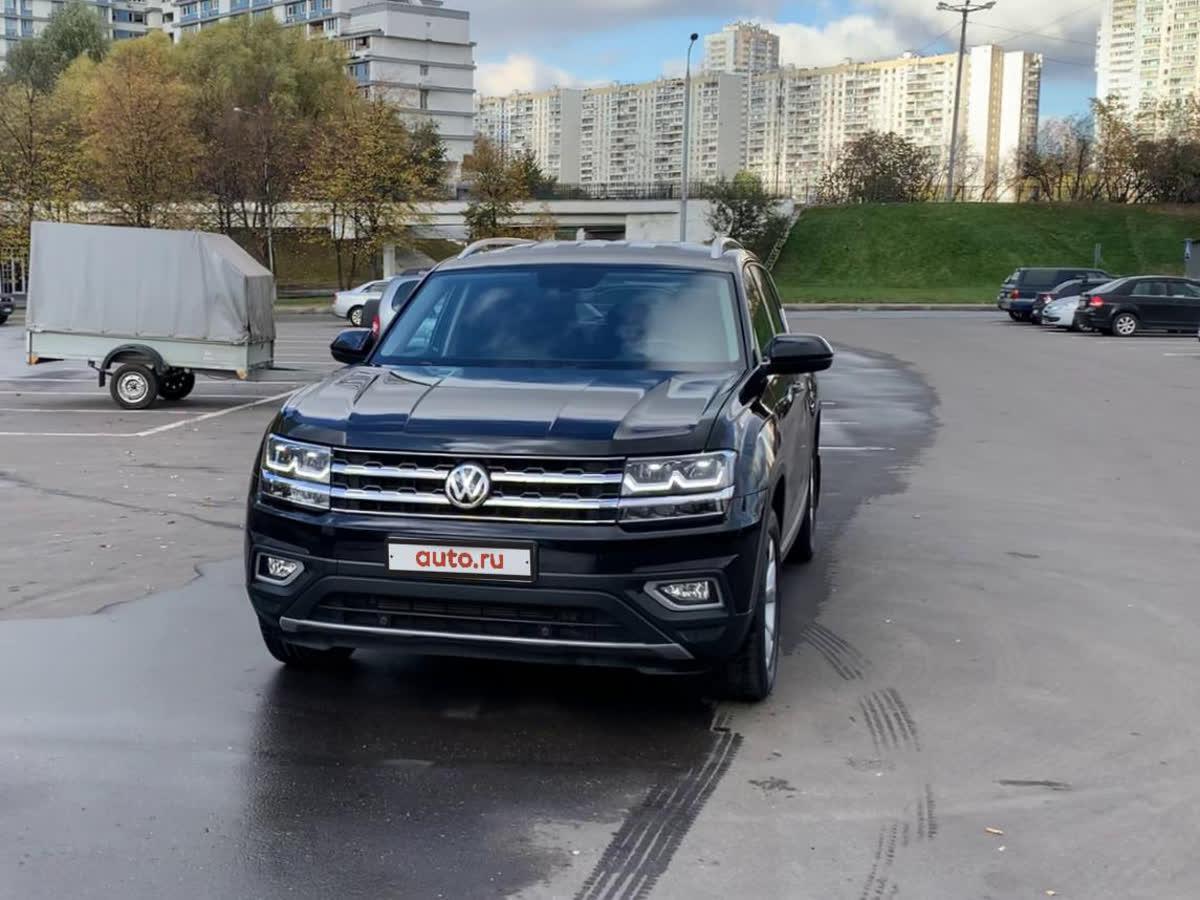 2018 Volkswagen Teramont  I, чёрный, undefined рублей