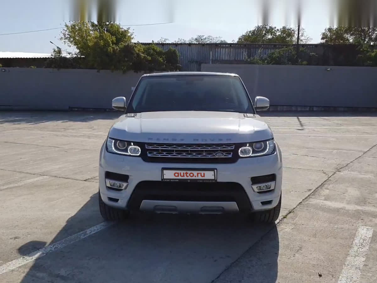 2015 Land Rover Range Rover Sport II, белый, 3250000 рублей