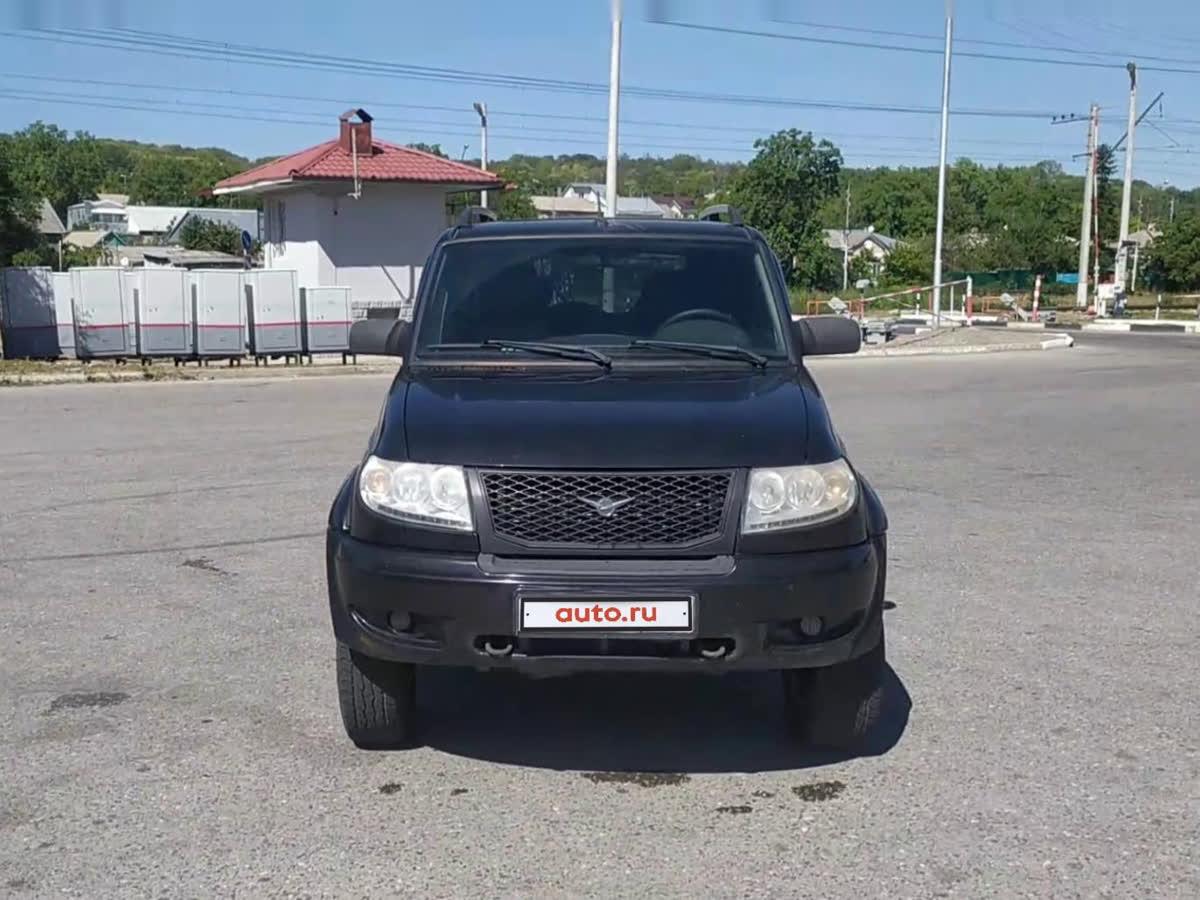 2014 УАЗ Patriot  I Рестайлинг 2, чёрный, undefined рублей