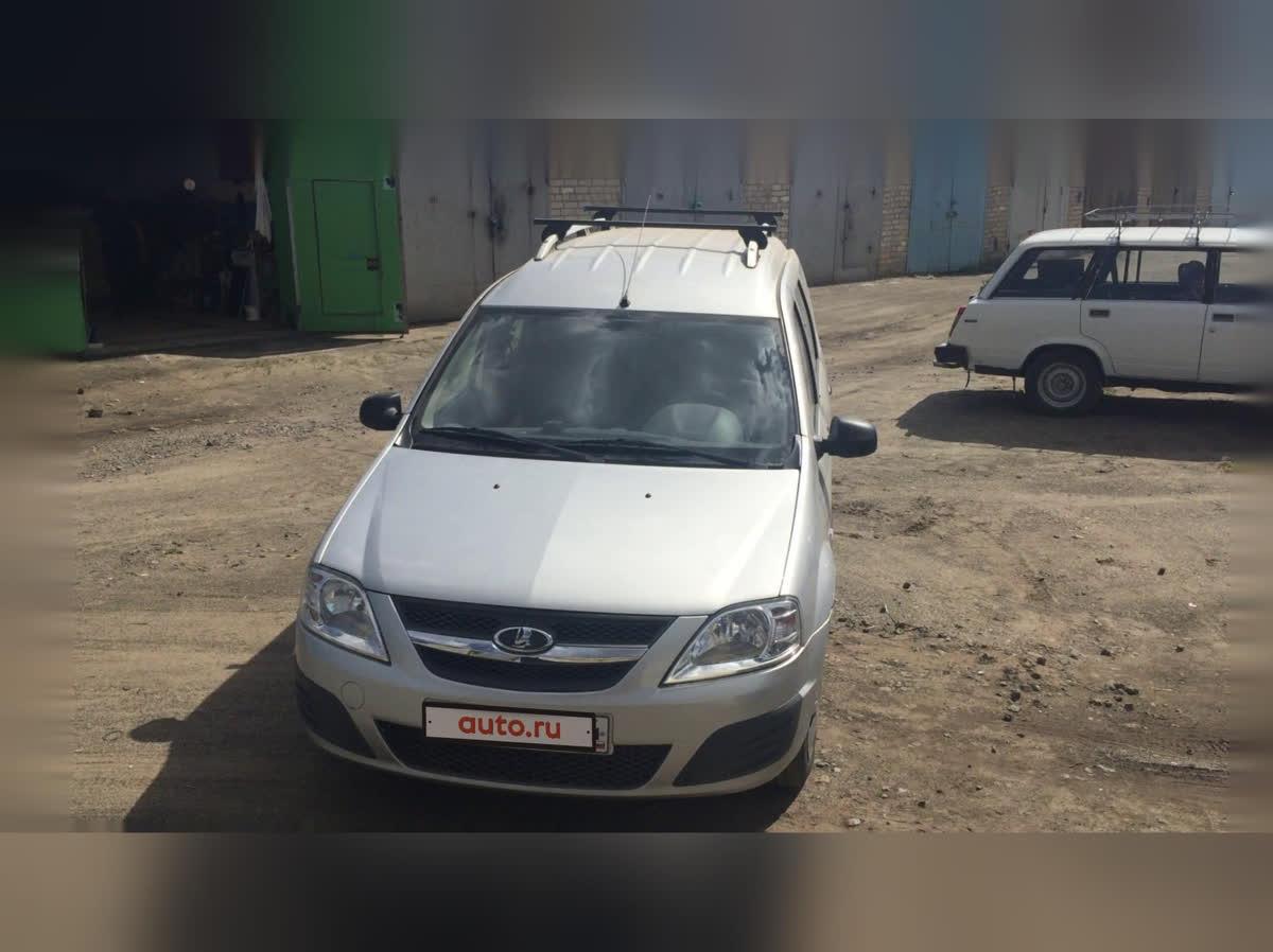 2013 LADA (ВАЗ) Largus I, серебристый, 475000 рублей
