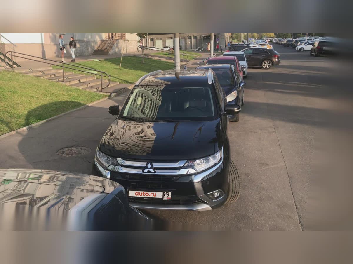 2018 Mitsubishi Outlander  III Рестайлинг 2, чёрный, undefined рублей