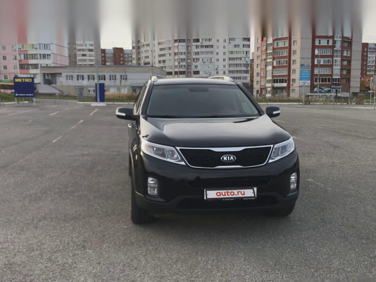 2017 Kia Sorento  II Рестайлинг, чёрный, undefined рублей