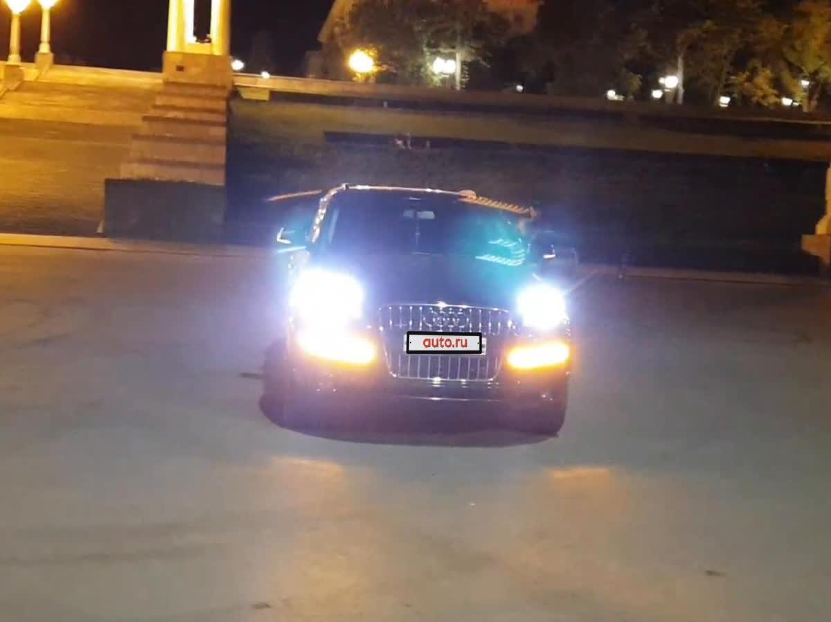 2012 Audi Q7 I (4L) Рестайлинг, чёрный, 1520000 рублей