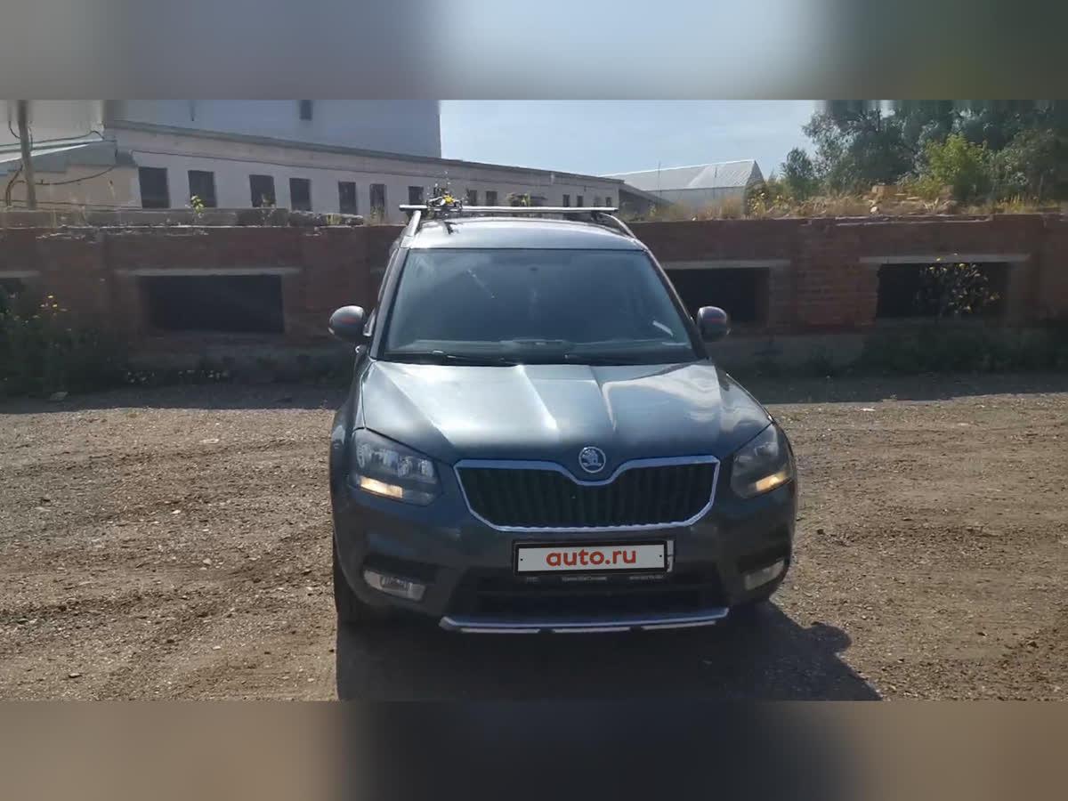 2014 Skoda Yeti I Рестайлинг, серый, 630000 рублей