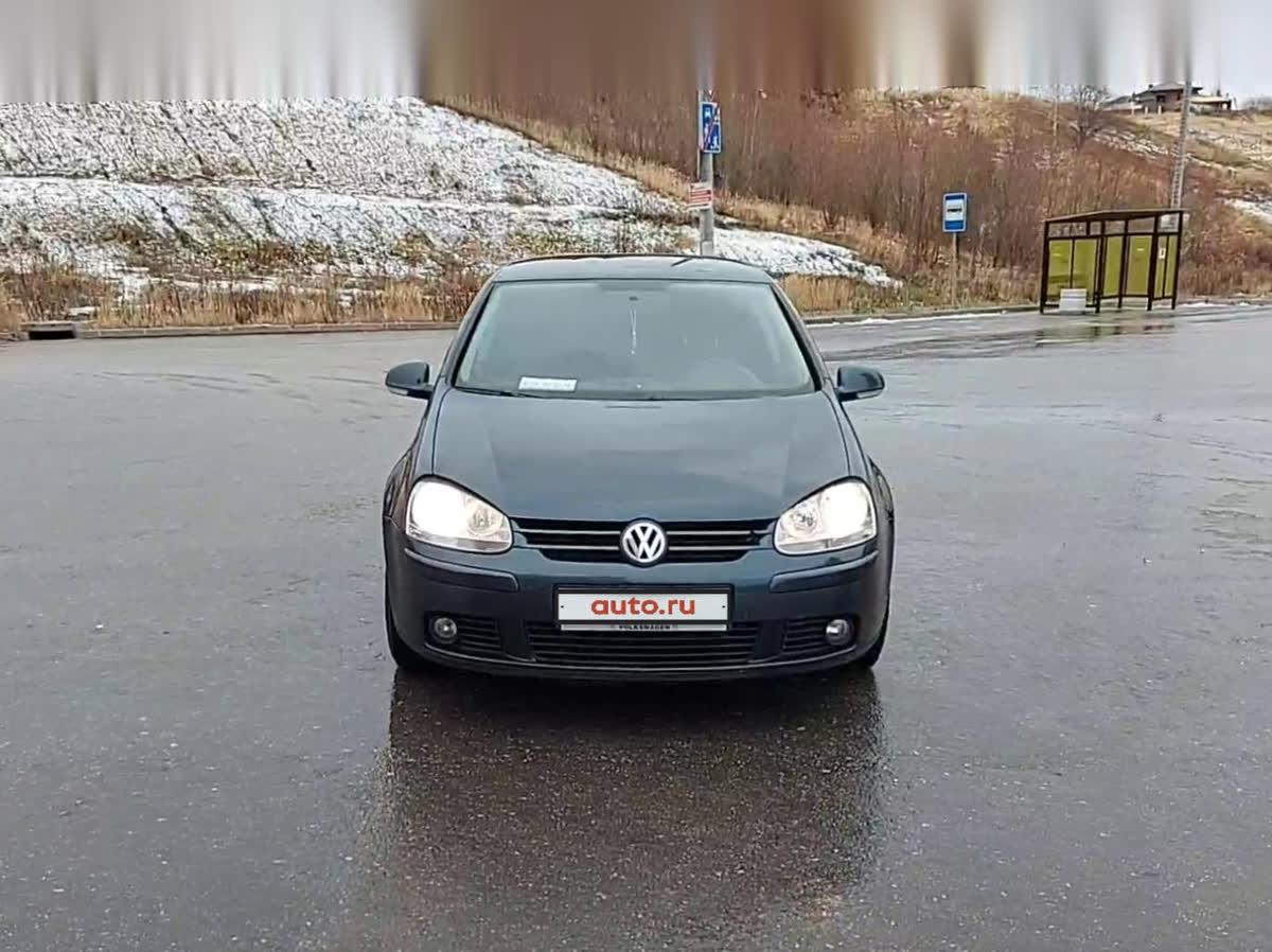 2008 Volkswagen Golf  V, серый, undefined рублей