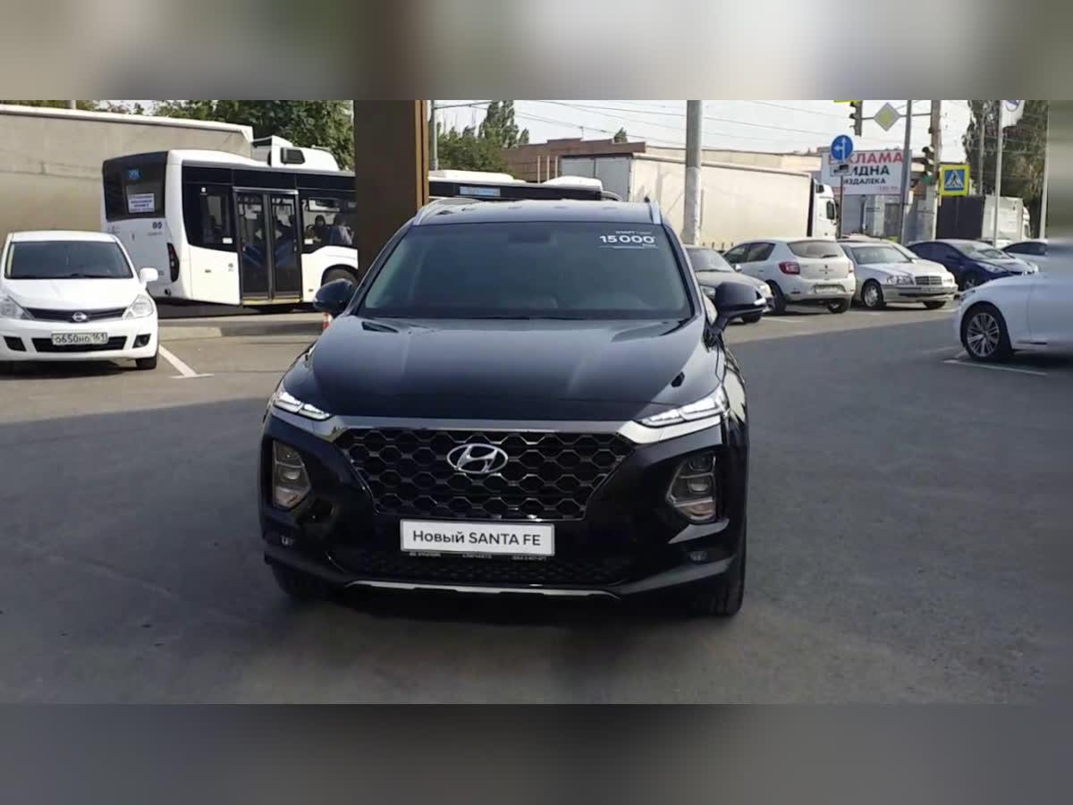 2020 Hyundai Santa Fe  IV, чёрный, undefined рублей