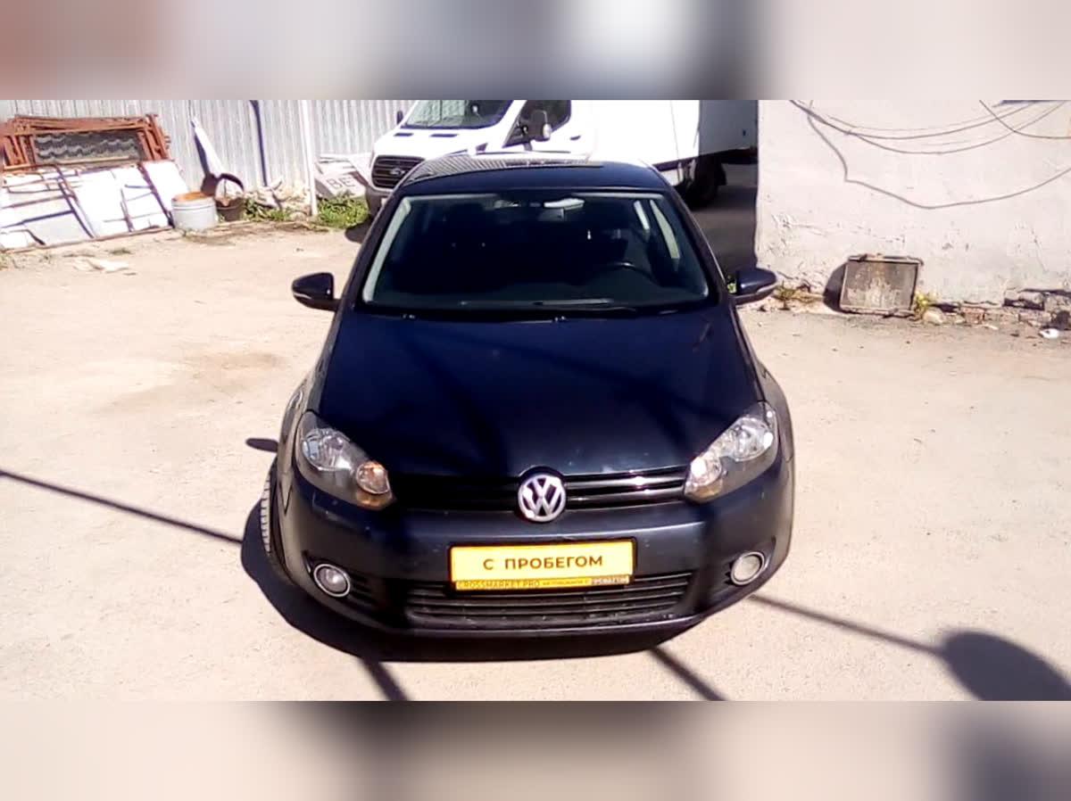 2010 Volkswagen Golf  VI, синий, undefined рублей