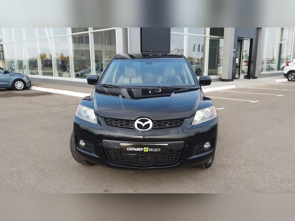 2007 Mazda CX-7 I, чёрный, 399000 рублей