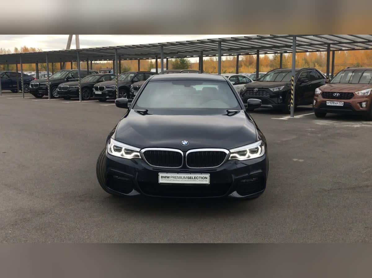 2019 BMW 5 серии  VII (G30/G31) 530i xDrive, синий, undefined рублей