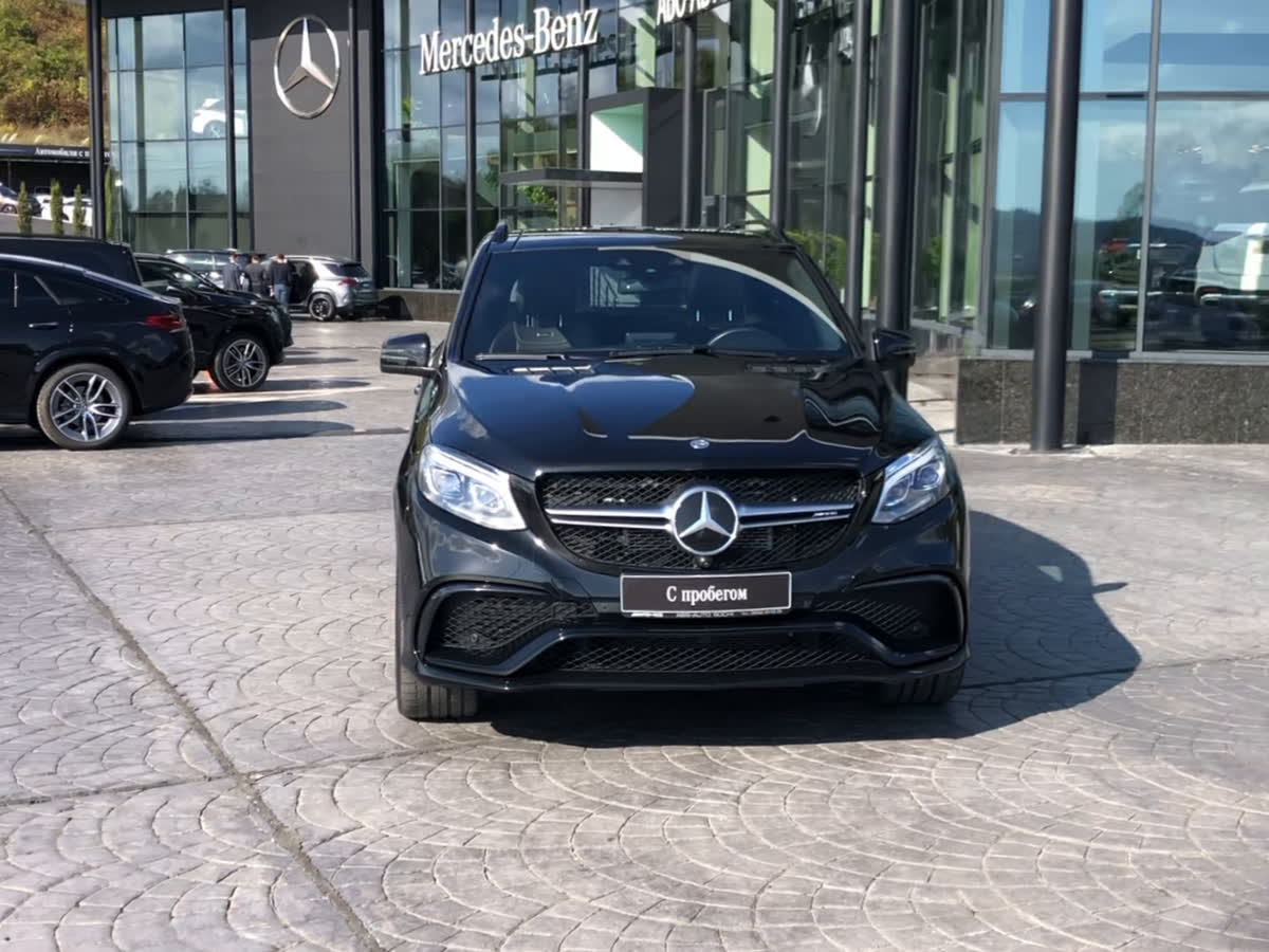 2015 Mercedes-Benz GLE AMG  I (W166) 63 AMG, чёрный, undefined рублей