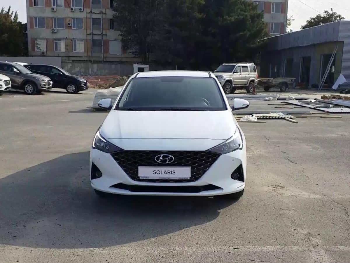 2020 Hyundai Solaris  II Рестайлинг, белый, undefined рублей