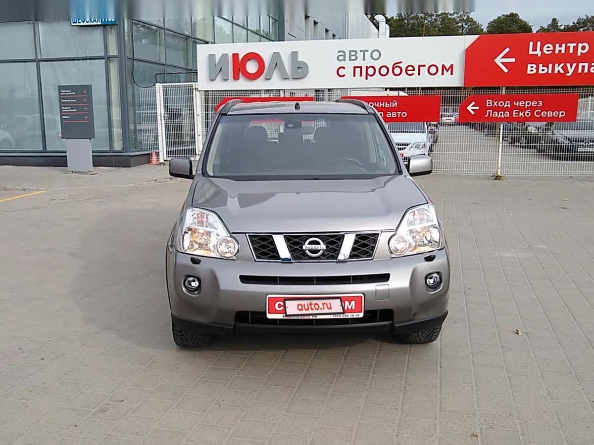 2007 Nissan X-Trail II, серый, 639000 рублей