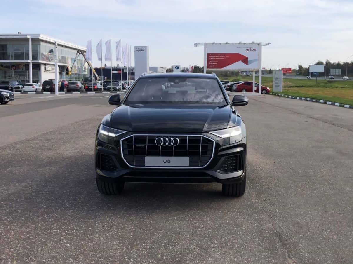 2019 Audi Q8  I 55 TFSI, чёрный, undefined рублей