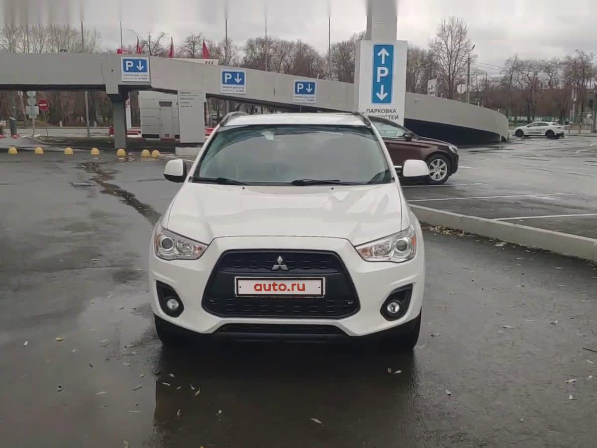 2012 Mitsubishi ASX  I Рестайлинг, белый, undefined рублей